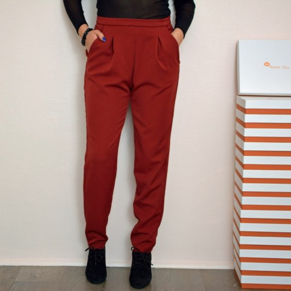 Patron Pantalon Lou Rouge Face
