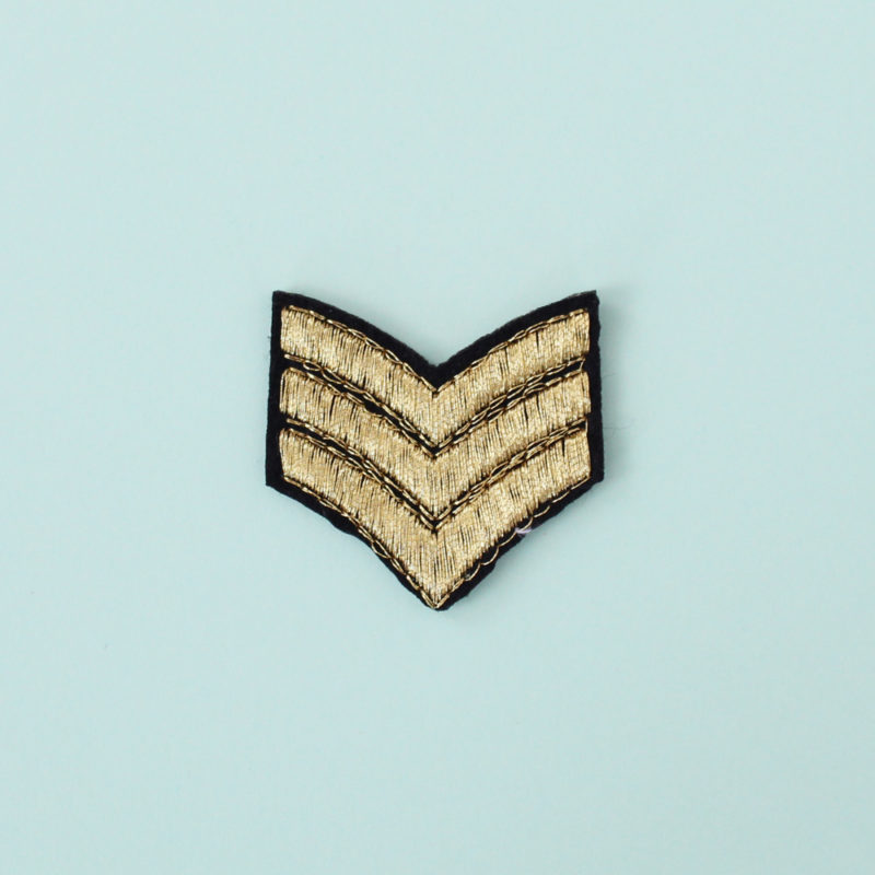 patch chevron thermocollant
