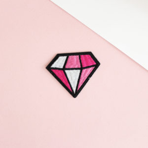 patch diamant thermocollant