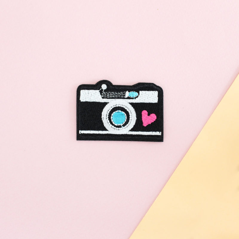 patch instagram appareil photo