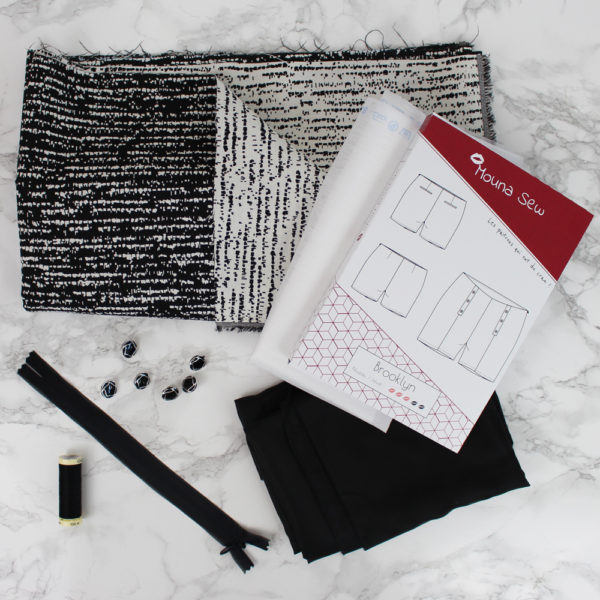 Kit couture short Brooklyn Snow