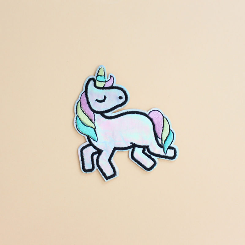 patch licorne thermocollant