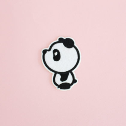 patch panda thermocollant