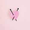 patch pelote coeur thermocollant