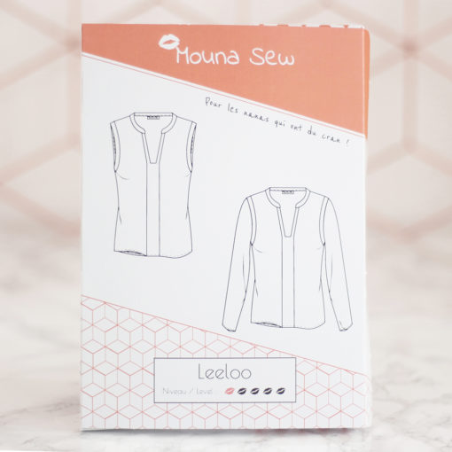 Patron couture blouse Leeloo
