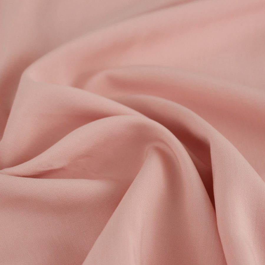 Viscose rose saumon