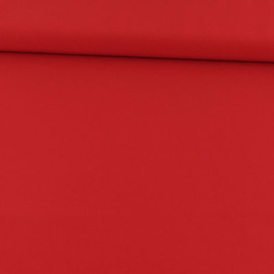 "Tissu polyester ""Le Sublime"" rouge"