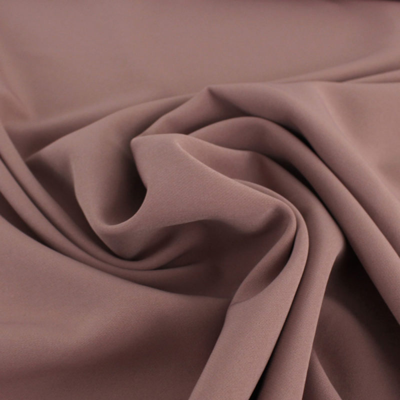 "Tissu polyester ""Le Sublime"" rose"
