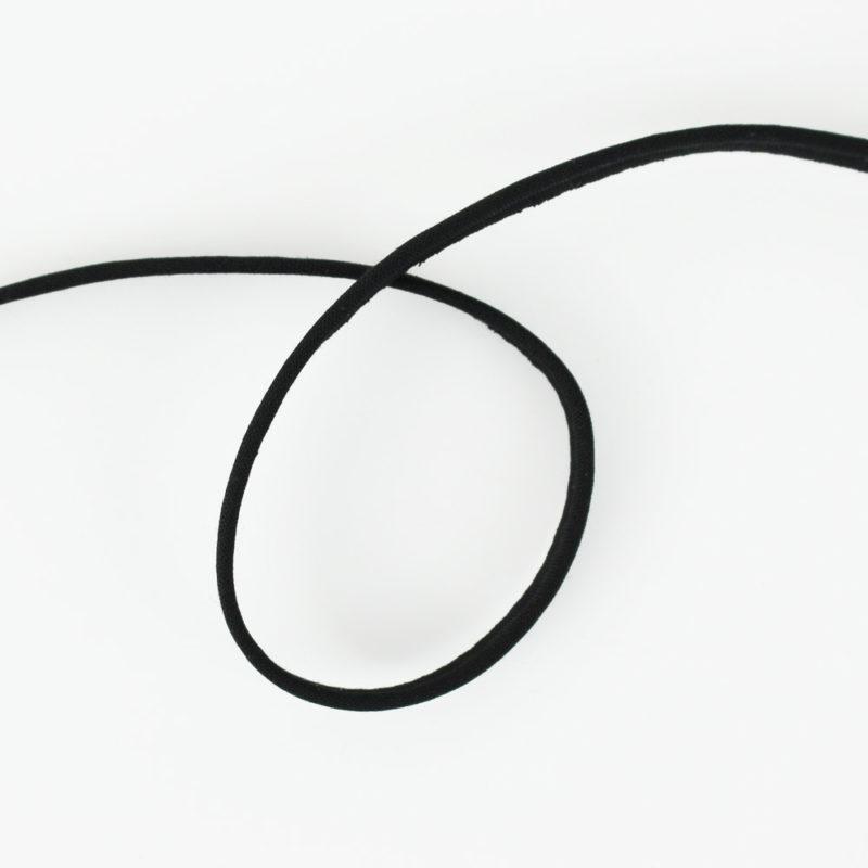 Passepoil fin noir