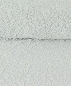 Tissu Dentelle Rosita - blanc