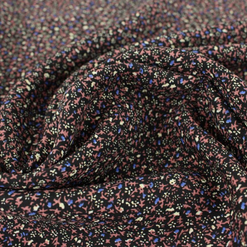 Tissu Viscose mini fleurs