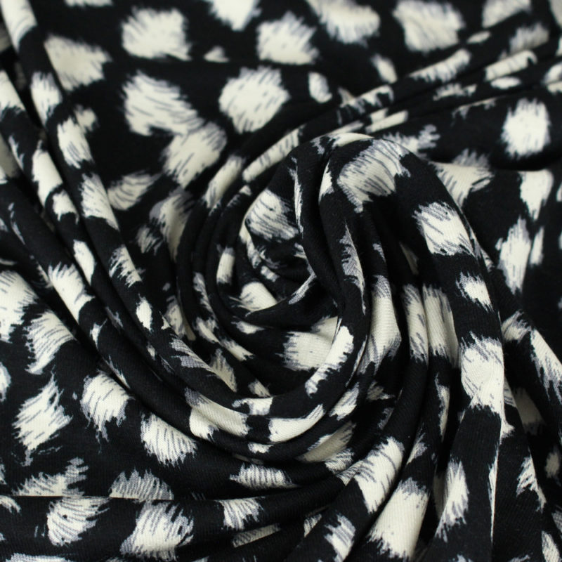 Tissu Jersey de viscose éclat sauvage