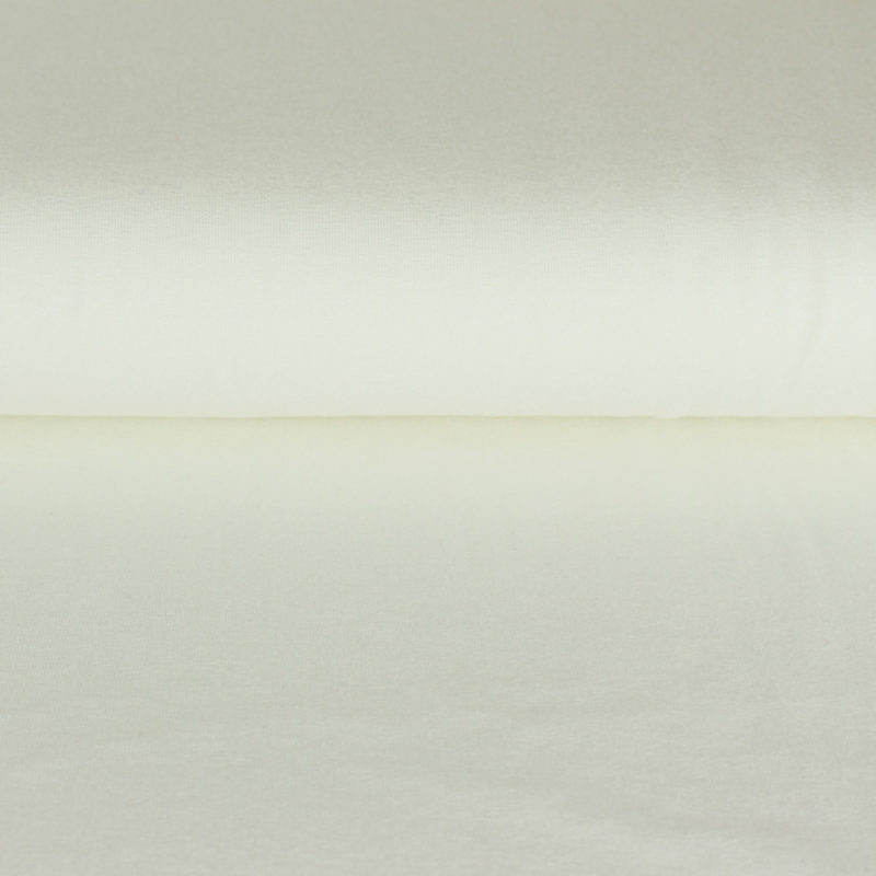 Tissu Jersey de viscose écru