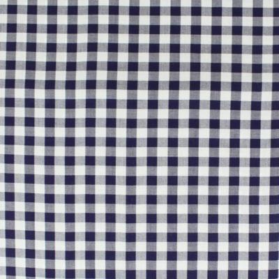 Tissu Viscose vichy - bleu