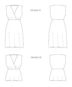 Patron de couture robe Océane en jersey