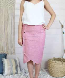 Patron de couture jupe portefeiulle mounasew