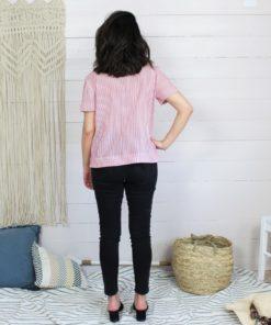 Patron blouse naia manches courtes