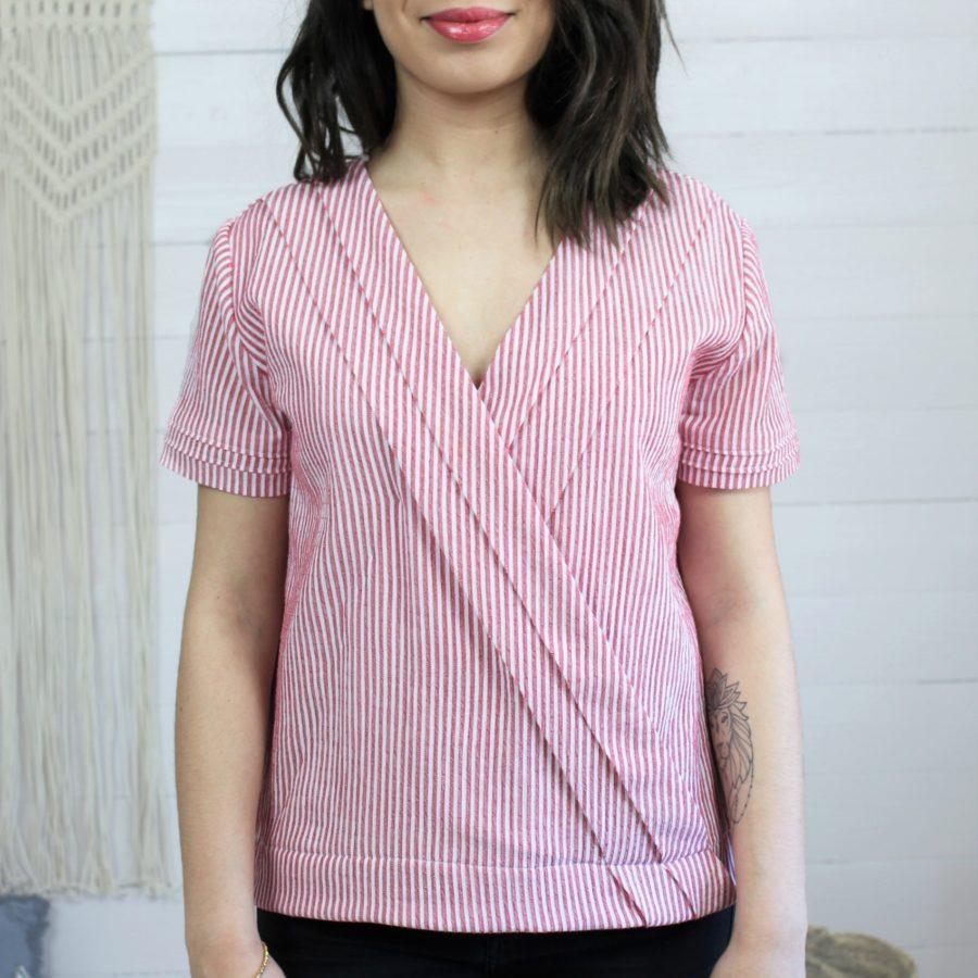 Zoom patron blouse Naia