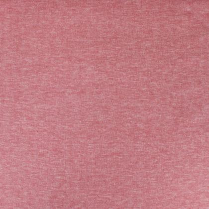 Tissu lin rouge et blanc