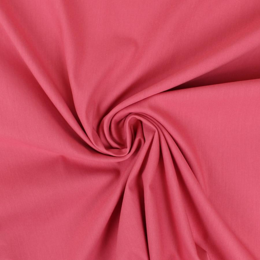 Tissu Denim uni framboise