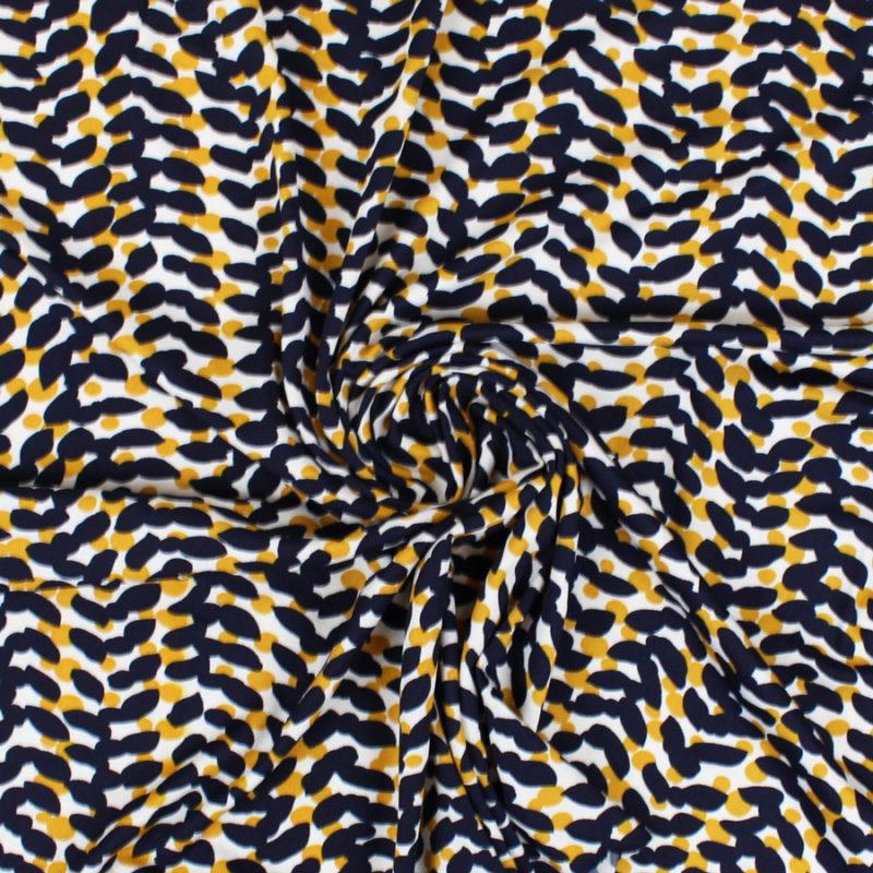 Tissu jersey Pépites de soleil