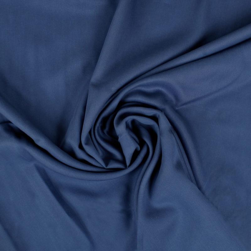 Tissu Lyocell bleu