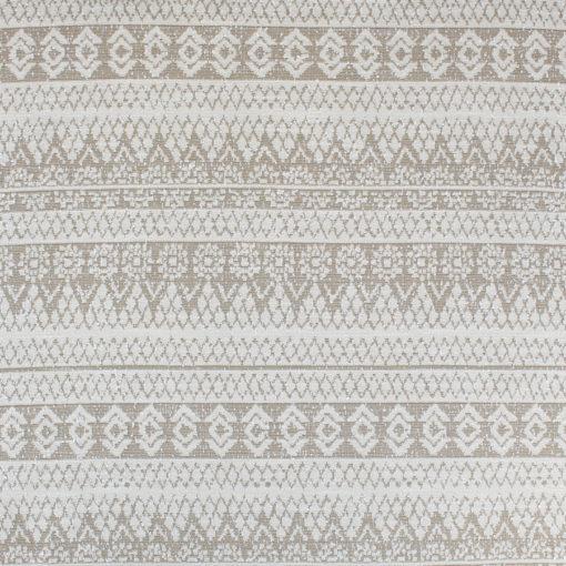 Tissu Maille ethnique beige