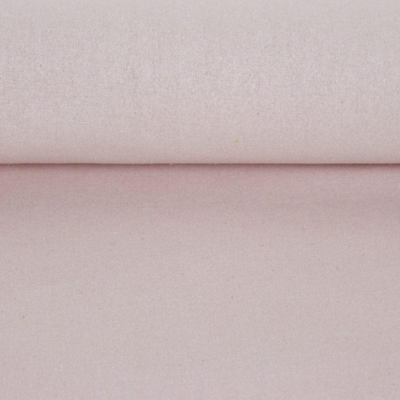 Tissu bourrette de soie couleur vieux rose