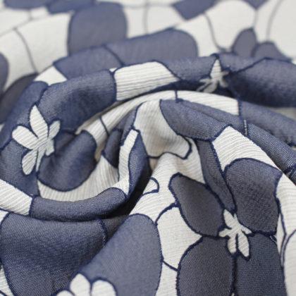 Tissu texturé Fleur des iles