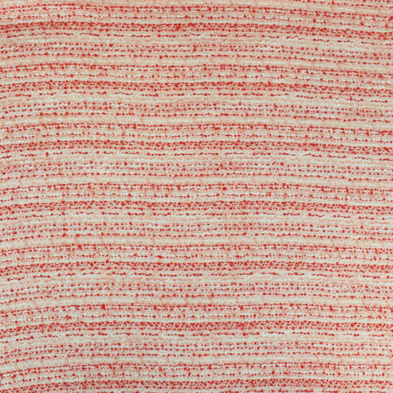 Tissu Tweed écru et rouge