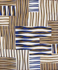 Tissu viscose imprimé plage