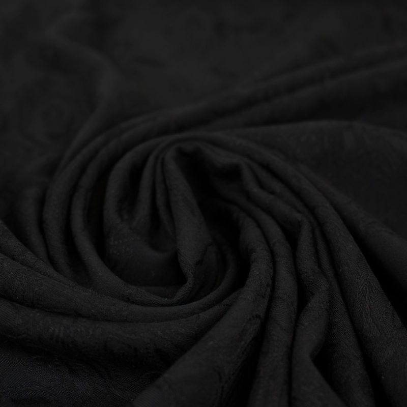 Viscose rose des bois - noir