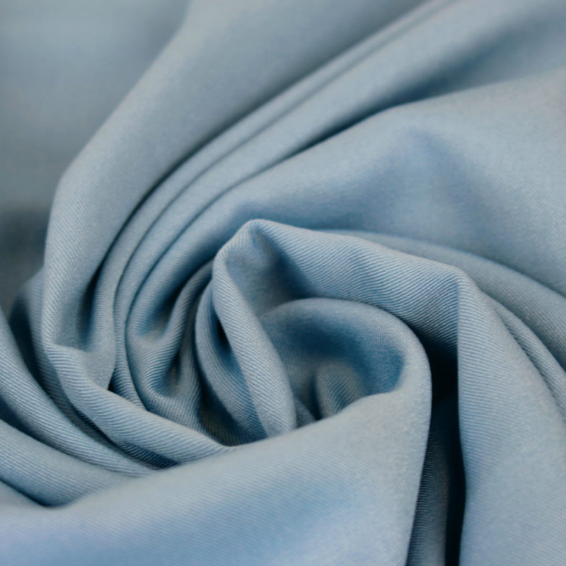 Tissu viscose twill dusty blue