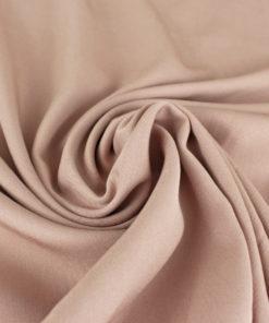 Tissu-Viscose twill nude