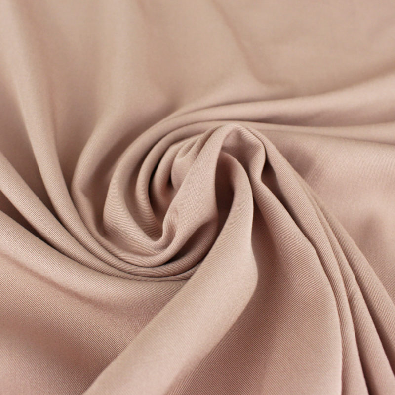 Tissu-Viscose twill nude