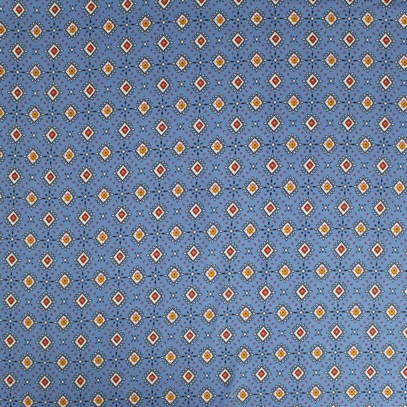 Tissu crêpe georgette à motifs losanges