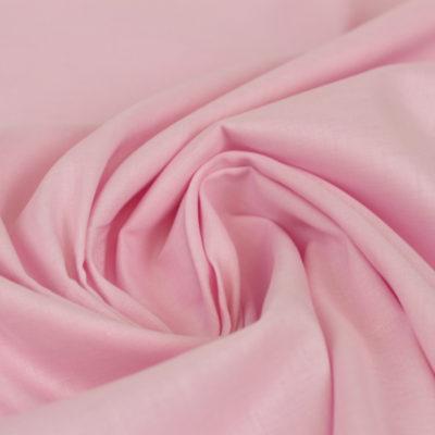 Voile coton rose