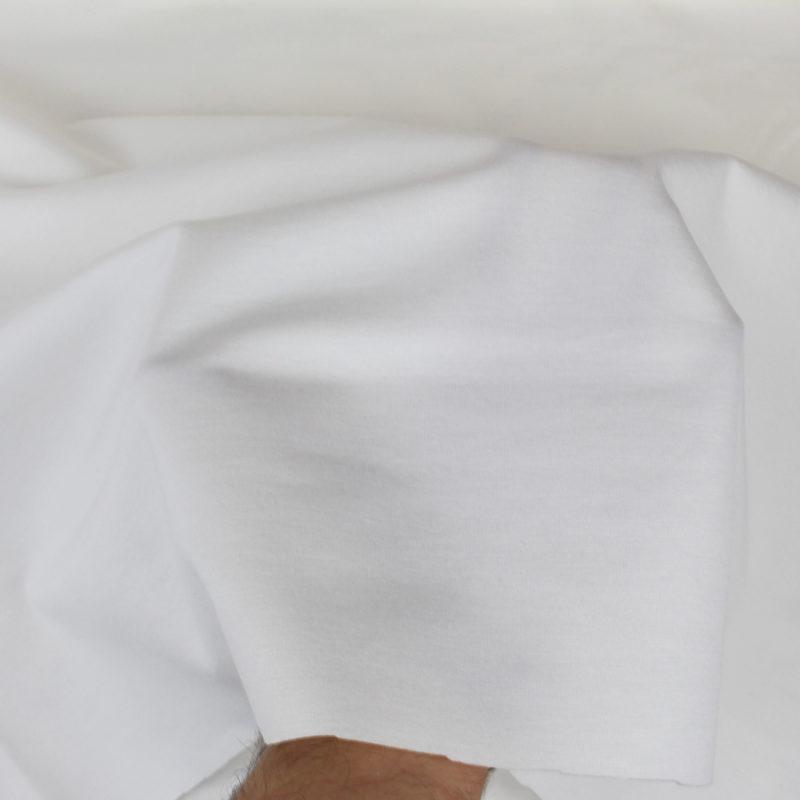 Tissu Jersey punta écru