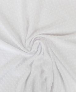 Voile transparent plumetis