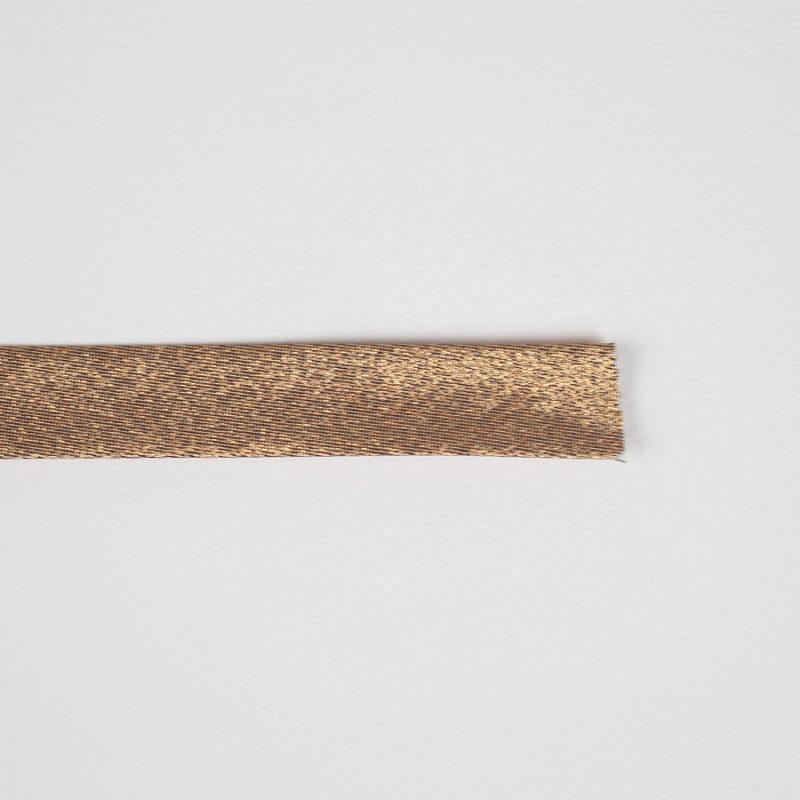 Biais lurex cuivre