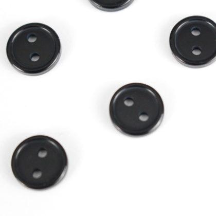 Boutons Bleu marine 10mm / 12mm / 14mm