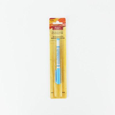 Feutre effaçable à l'eau bleu pointe extra-fine