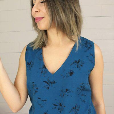 Kit couture Confiance Esquisse bleu