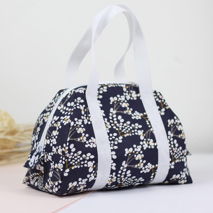 Kit couture Lunch bag Elsa bleu nuit