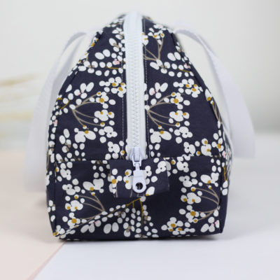 Kit couture Lunch bag Elsa bleu nuit