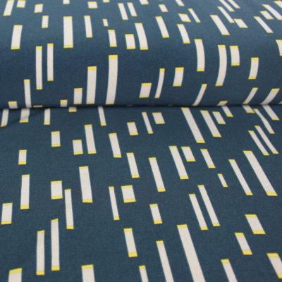 Tissu Crêpe Cocobat - bleu