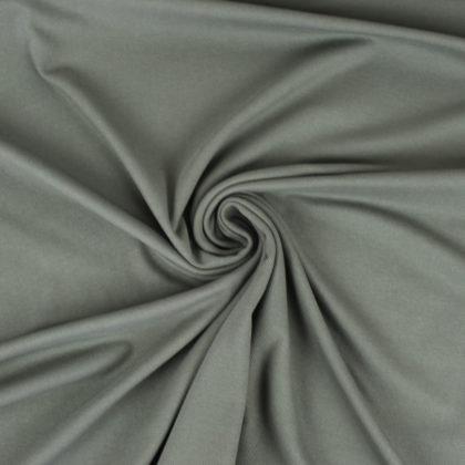 Tissu Maille polo kaki