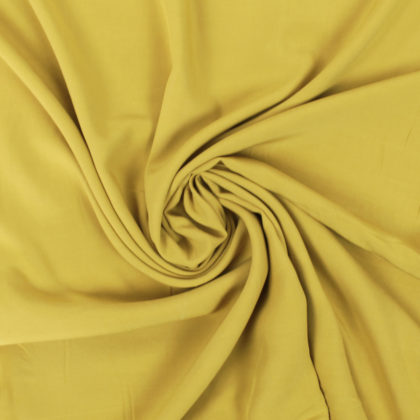 Tissu Viscose ocre