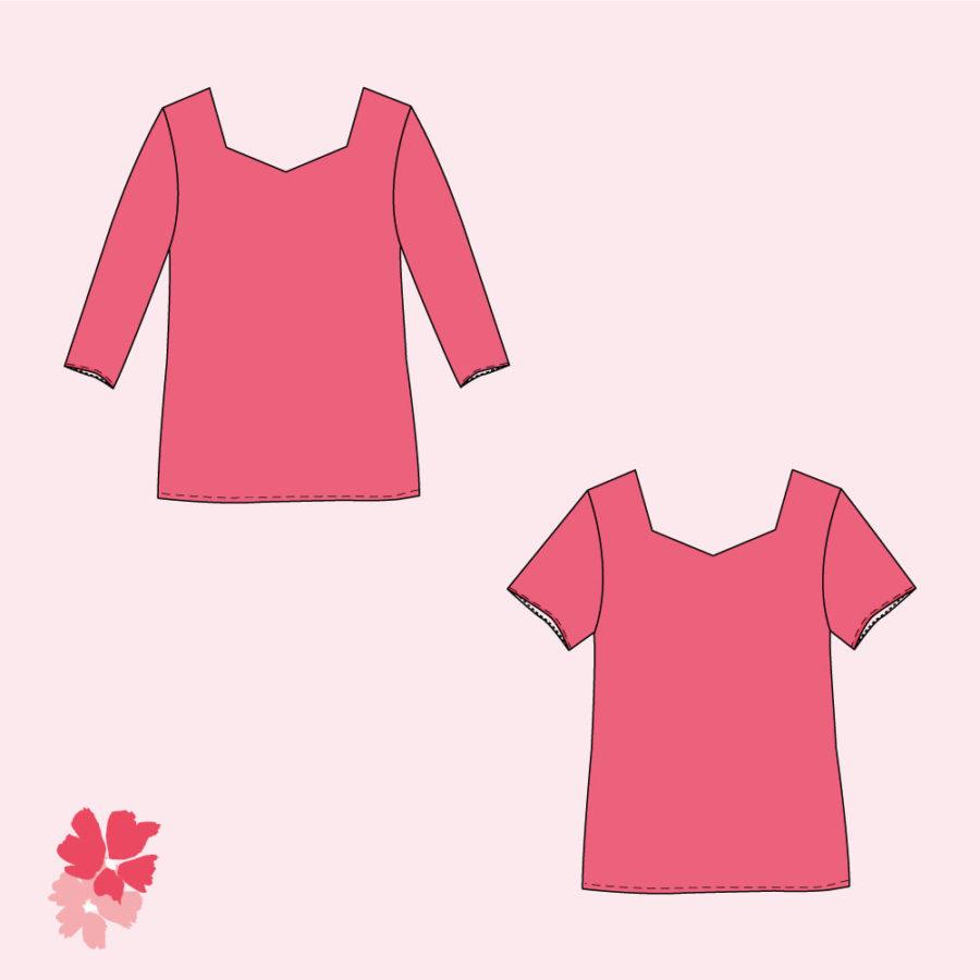 patron PDF blouse Penta