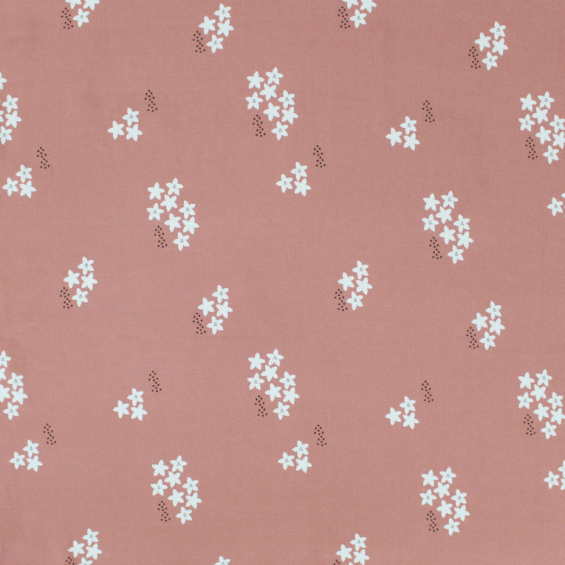 Tissu-MounaSew-StarFlower-rose-porcelaine